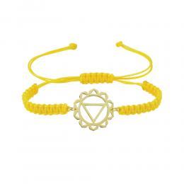 Göbek Çakrası (Manipura-Solar Pleksus) Altın Bileklik