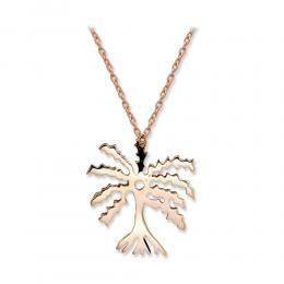 Palmiye Sembol Altın Kolye (ABE DUA)