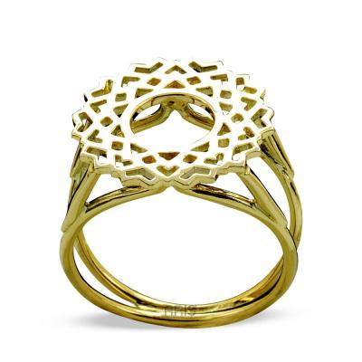 Taç Çakrası Altın Yüzük (Sahashrara)
