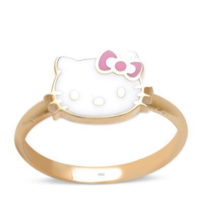 Hello Kitty Altın Yüzük