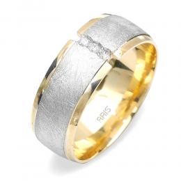 Tria Pırlantalı Altın Alyans