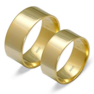 Klasik Söz, Nişan, Evlilik Alyansı (8 mm)