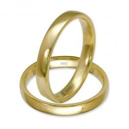 Klasik Düz Altın Alyans (3 mm)