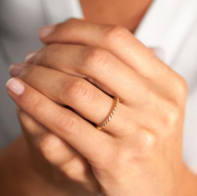 Aşk Döngüsü Altın Evlilik Alyansı