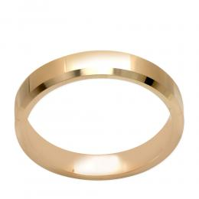 Klasik Altın Evlilik Alyansı