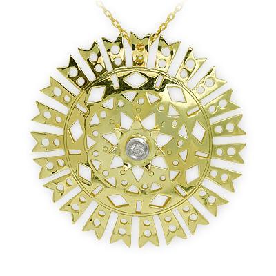 Pırlanta (Denge-Alg/Pediostrum Simplex) Sembol Kolye