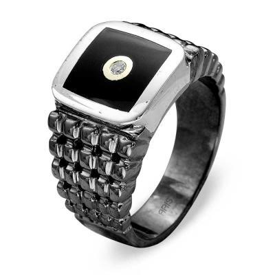 Pırlanta Altın / Gümüş Yüzük (Unisex)